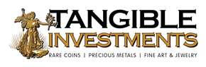 What's new with Tangible Investments?  We're glad you asked.  Check back often here to read our latest press releases and see what information we'sre taking public. Whether it'ss an announcement regarding our gallery, a fabulous new acquisition, or a special Tangible Investments off-site event, you'sll find out about it on this page. Tangible Investments and GoCoins.com buy and sell rare coins, precious metals, fine art and jewelry.