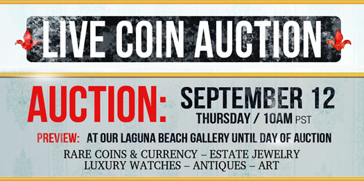 Live Coin Auction