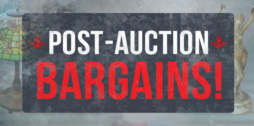 Post Auction Bargains